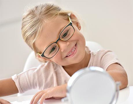 progress salon optyczny Bydgoszcz badania wzroku u dzieci okulary i oprawki okularowe dziecięce okulary korekcyjne dla dzieci